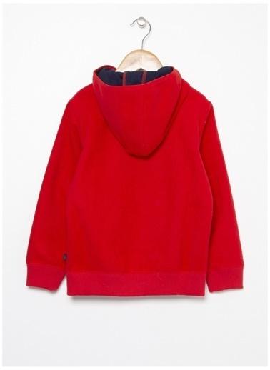 Benetton Sweatshirt Kırmızı